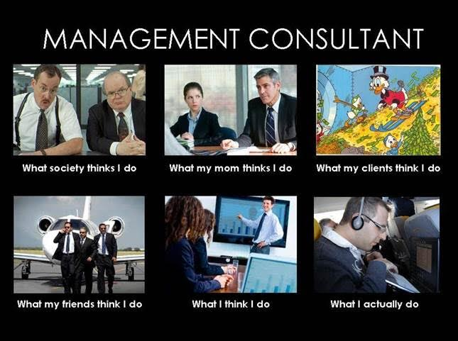 management consultant - what xxx thinks i do consultancy grappen